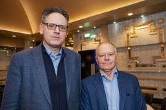 FREE PIC - NO REPRO FEE - Feb 11, 2020 Hugh Smiddy (left), Tyndall Nat. Institute with Jerry Fitzpatrick,Sec/Treas, CEIA at the 35th AGM of the CEIA, Cork's Technology Network which took place at the Maryborough Hotel. Pic: Brian Lougheed