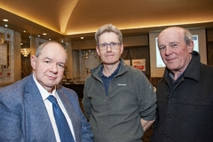 FREE PIC - NO REPRO FEE - Feb 11, 2020 From left: Kevin McCarthy, UCC, Dept of Electrical and  Electronic Eng; Jack Lombard, Firecomms and Ted O'Shea, Tyndall Nat. Institute at the 35th AGM of the CEIA, Cork's Technology Network which took place at the Ma