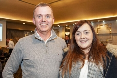 FREE PIC - NO REPRO FEE - Feb 11, 2020 Diarmuid Buckley of Careerwise and Michelle Donovan, TAPSTAK at the 35th AGM of the CEIA, Cork's Technology Network which took place at the Maryborough Hotel. Pic: Brian Lougheed